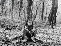 Őszi erdőn (Mártély, Ártéri tanösvény, 2013. október 28.)  (Yashica Mat 124G, Kodak TRI-X 400)