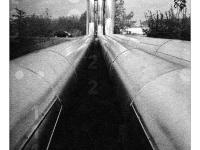 Csöves város (Tatabánya, 2013. november) (Diana F+, Lomography B&W 400)