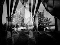 Csövek között (Tatabánya, 2013. november)  (Diana F+ lomo kamera + 800 film)