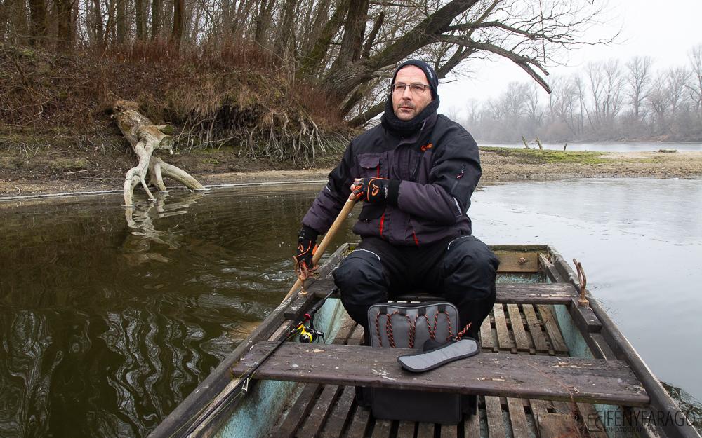 Téli evezés (Duna. 2020. január 26.)