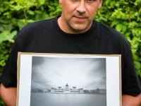 Kép-horgony: Parlament (Budapest, 2014. május 18.) (Papír lyukkamera, B&W 100 film)