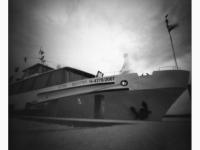 Balaton (Tihany, 2014. május 25.) (Papír lyukkamera, 100 B&W film)