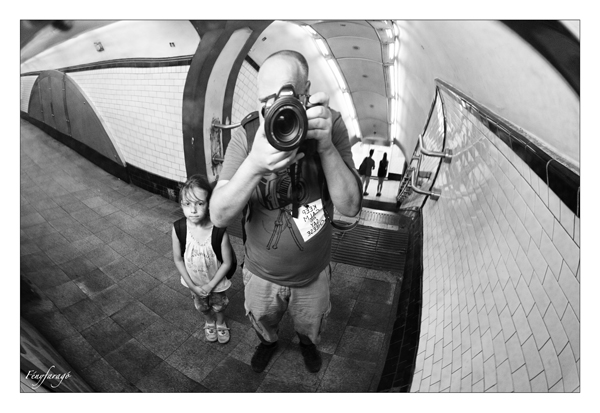 Underground portré (London, 2014. július 24.) | Underground portrait (London, July 24. 2014.)