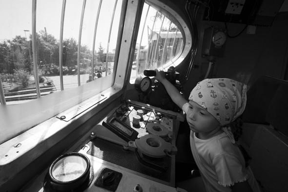 KIs mozdonyvezető - Vasúttörténeti Emlékpark