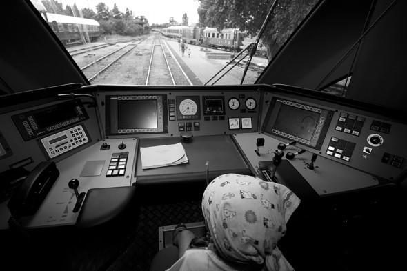 Mozdonyvezető - Vasúttörténeti Emlékpark