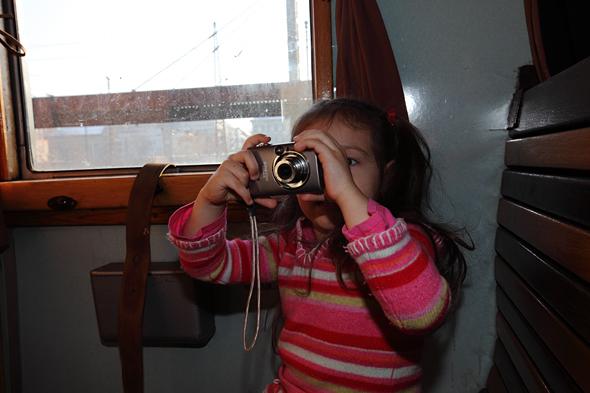 Kincső első fényképezője