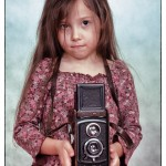 Gyermekfotózás - A kis fotográfus