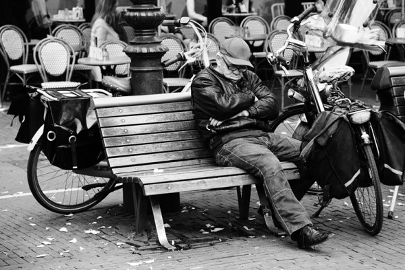 Csendes pihenő (Amszterdam, 2012. október 10.)