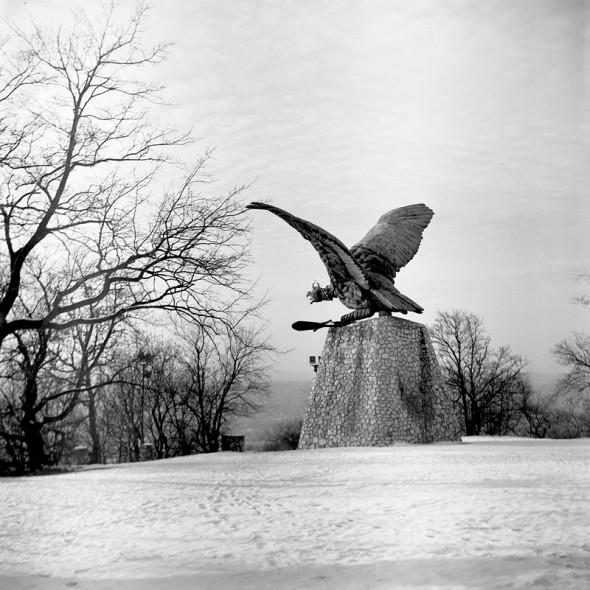 Tatabánya (Ljubitel 166B, Kodak TRI-X ff film)