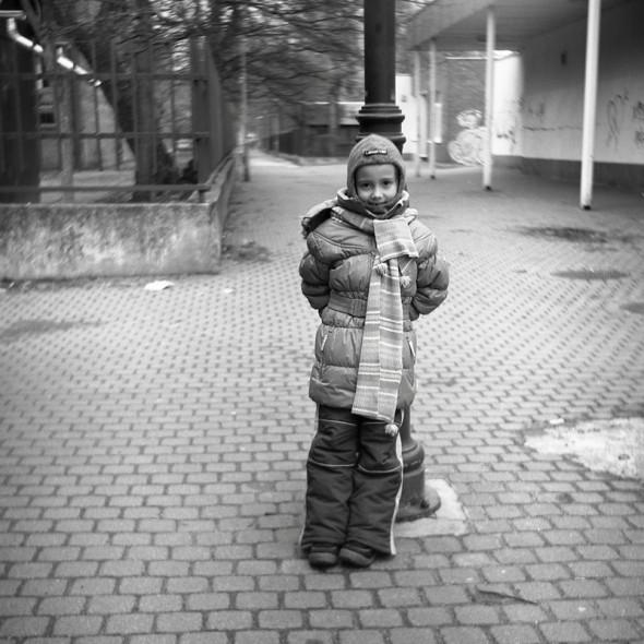 Kincső (Ljubitel 166B, Kodak TRI-X ff film)