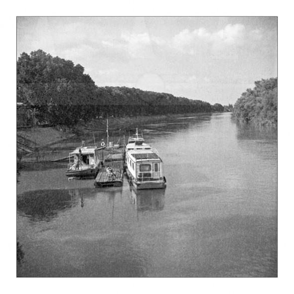 Duna - Lomográf tájkép