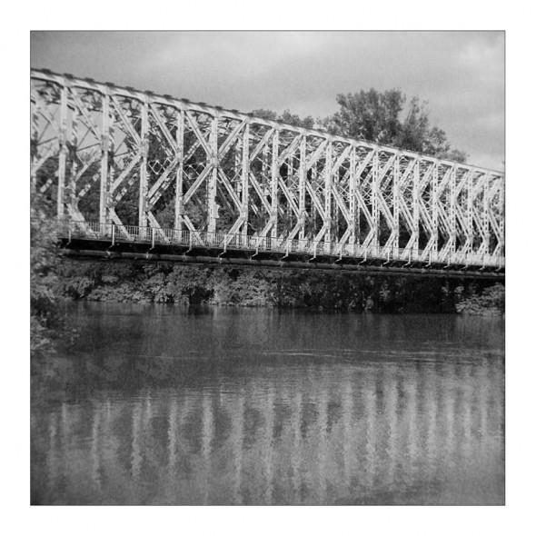 Hídtükör - Lomográf tájkép