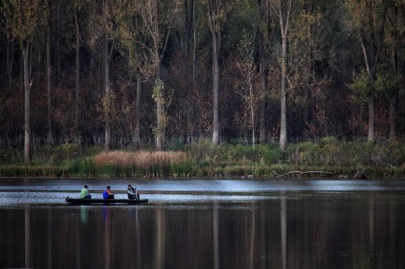 Esti horgászat (Mártély, 2013. október 28.)