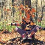 Őszi erdőn