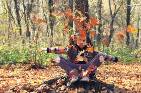 Őszi erdőn (Mártély, 2013. október 31.)