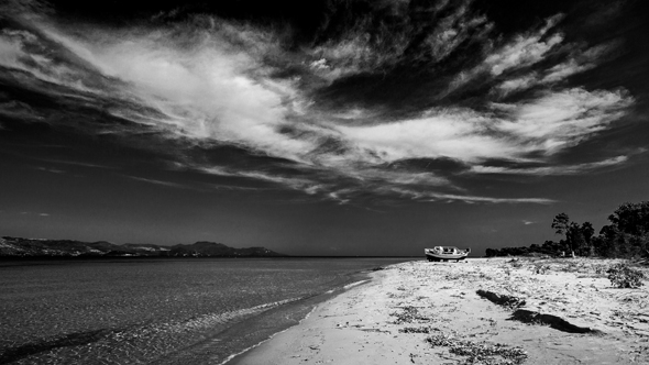Magányos part