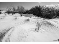 Szélfútta buckák (Gánt, 2015. január) | Windswept dunes (Gánt, Jan 2015.)